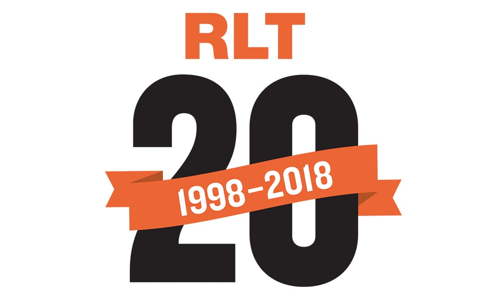Svetsföretaget RLT jubileumslogga